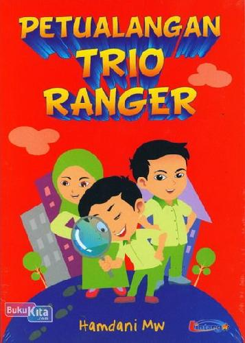 Cover Buku Petualangan Trio Ranger