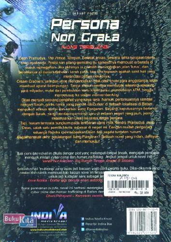 Cover Belakang Buku Persona Non Grata
