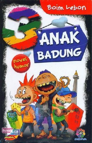 Cover Buku 3 Anak Badung