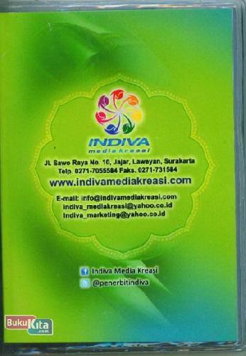 Cover Belakang Buku JUZ 30.29. 28 Hadits Arbain & al-Matsurat (warna hijau)