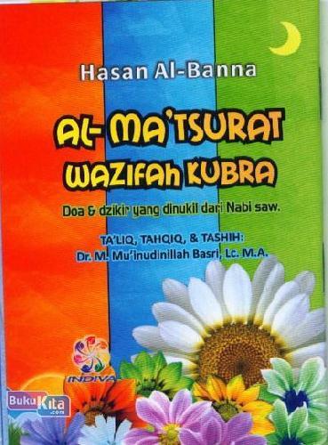 Cover Buku AL-MATSURAT WAZIFAH KUBRA (Jenis 1) pelangi