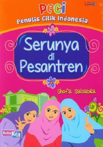 Cover Buku Serunya di Pesantren