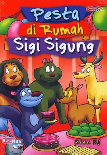 Cover Buku Pesta di Rumah Sigi Sigung