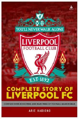 Cover Buku Complete Story of Liverpool FC