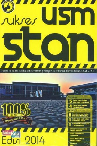 Cover Buku Sukses USM STAN Edisi 2014