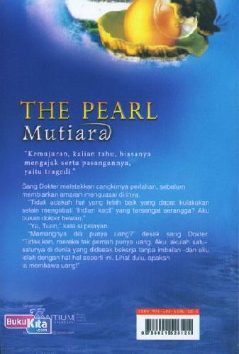 Cover Belakang Buku The Pearl (Mutiara)