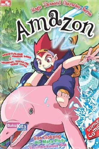 Cover Buku MAGIC CHINESE CHARACTER SERIES - Amazon (Disc 50%)