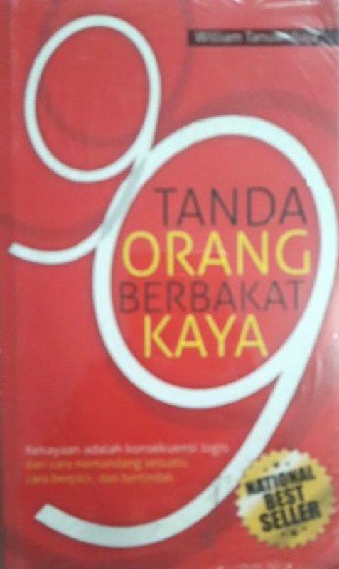 Cover Buku 99 Tanda Orang Berbakat Kaya (Ed. National Best Seller)
