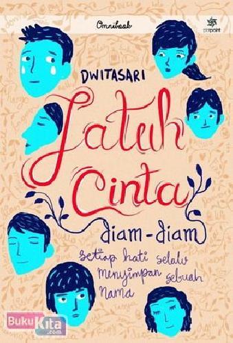 Cover Buku Jatuh Cinta Diam Diam
