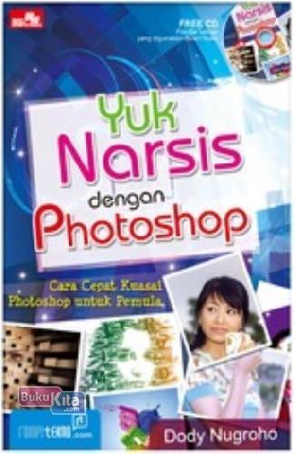 Cover Buku Yuk Narsis dengan Photoshop + CD