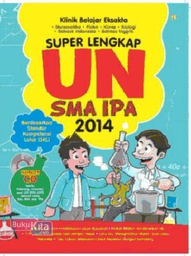 Cover Buku Super Lengkap UN SMA IPA 2014