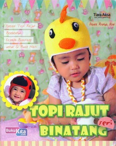 Cover Buku Topi Rajut Seri Binatang