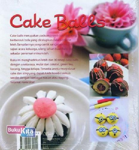 Cover Belakang Buku Cake Balls