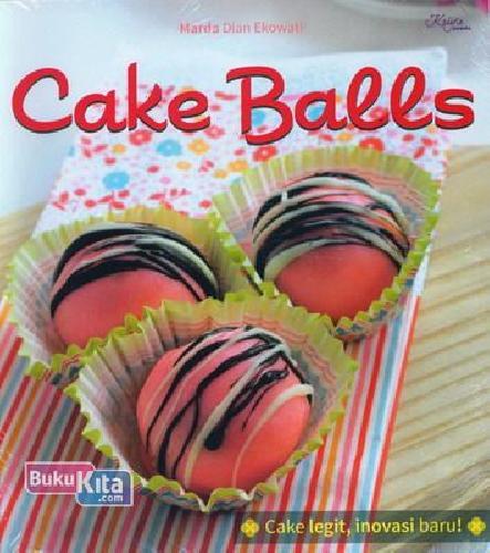 Cover Buku Cake Balls
