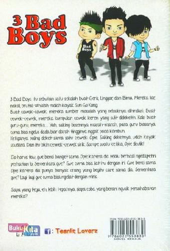 Cover Belakang Buku 3 Bad Boys