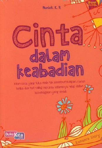 Cover Buku Cinta Dalam Keabadian