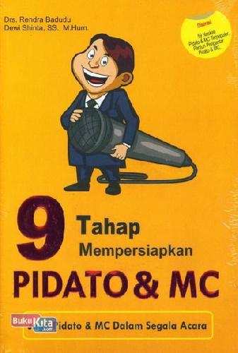 Cover Buku 9 Tahap Mempersiapkan Pidato & MC