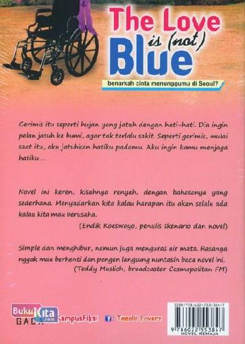 Cover Belakang Buku The Love is Not Blue