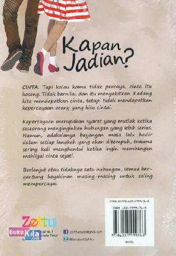 Cover Belakang Buku Kapan Jadian?