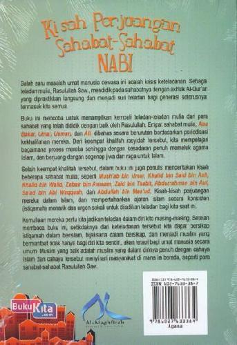 Cover Belakang Buku Kisah Perjuangan Sahabat-Sahabat Nabi