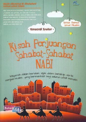 Cover Buku Kisah Perjuangan Sahabat-Sahabat Nabi
