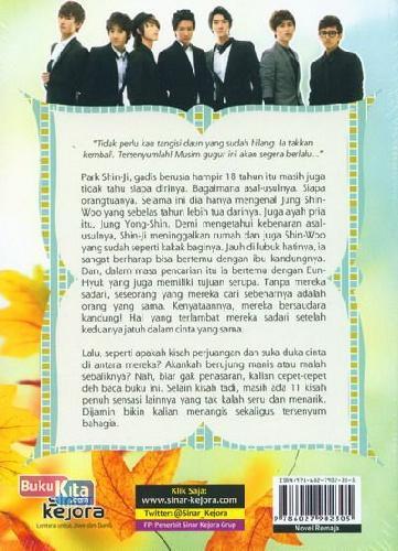 Cover Belakang Buku Autumn Wish: Karena Hanya Ada Kamu di Hatiku