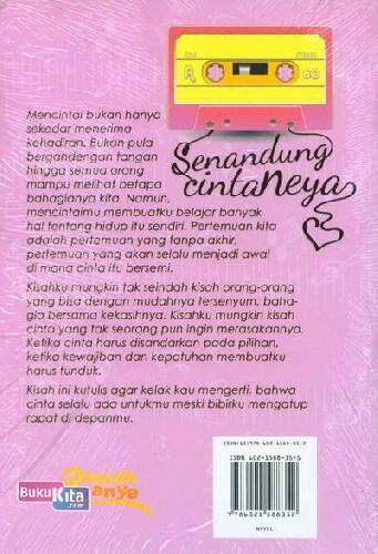 Cover Belakang Buku Senandung Cinta Neya