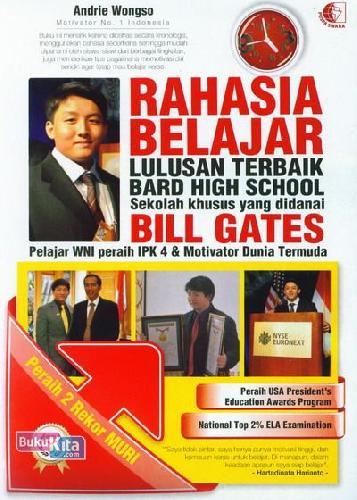 Cover Buku Rahasia Belajar Lulusan Terbaik Bard High School