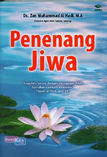 Cover Buku Penenang Jiwa