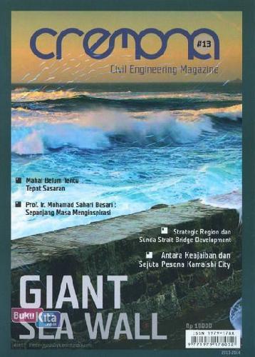 Cover Buku Majalah Cremona Edisi 13 - 2014