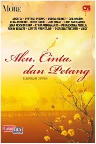 Cover Buku Aku, Cinta dan Petang (Disc 50%)
