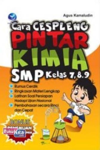 Cover Buku Cara Cespleng Pintar kimia SMP Kelas 7,8,9