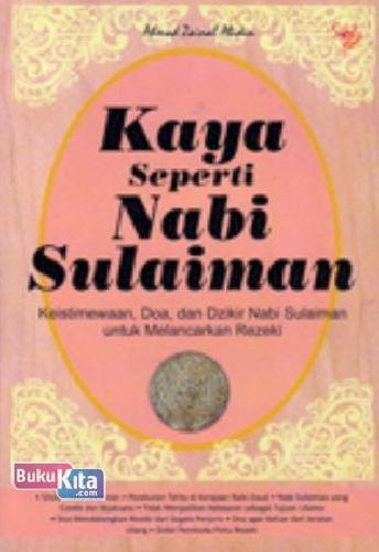 Buku Kaya Seperti Nabi Sulaiman Toko Buku Online Bukukita