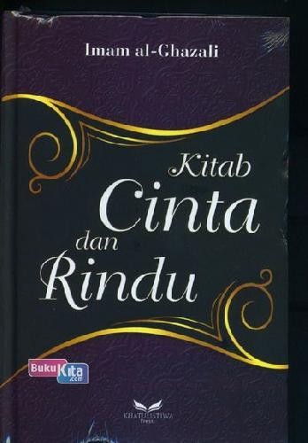 Cover Buku Kitab Cinta dan Rindu