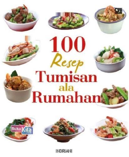 Cover Buku 100 Resep Tumisan ala Rumahan