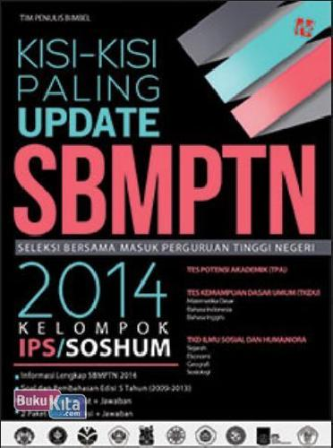Cover Buku KISI-KISI PALING UPDATE SBMPTN 2014 KELOMPOK IPS/SOSHUM