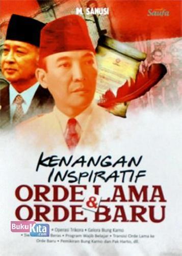 Cover Buku Kenangan Inspiratif Orde Lama & Orde Baru