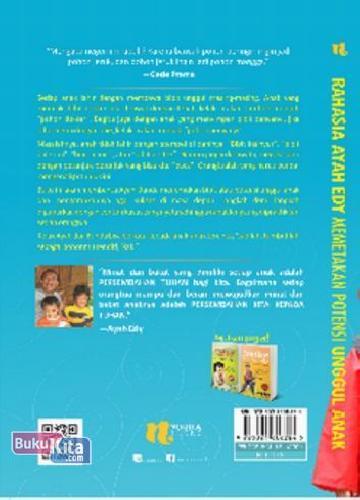 Cover Belakang Buku Rahasia Ayah Edy Memetakan Potensi