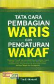 Cover Buku Tata Cara Pembagian Waris dan Pengaturan Wakaf