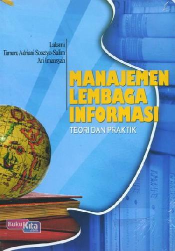 Cover Buku Manajemen Lembaga Informasi Teori dan Praktik