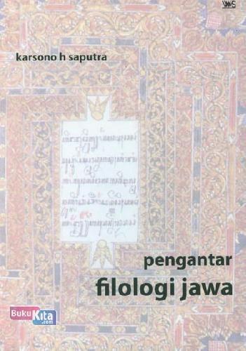 Cover Buku Pengantar Filologi Jawa