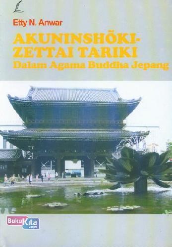 Cover Buku Akuninshoki Zettai Tariki Dalam Agama Buddha Jepang