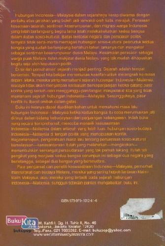 Cover Belakang Buku Akar Melayu Ideologi Dalam Sastra