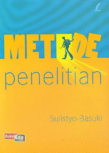 Cover Buku Metode Penelitian