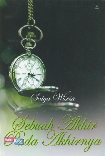 Cover Buku Sebuah Akhir Pada Akhirnya