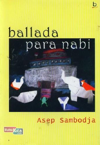 Cover Buku Ballada Para Nabi