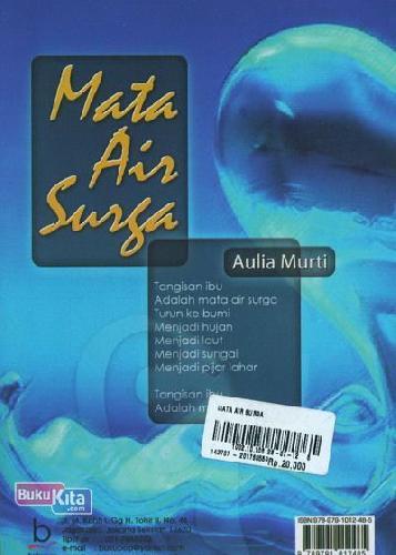 Cover Buku Mata Air Surga