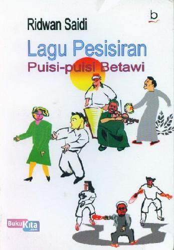 Cover Buku Lagu Pesisiran (Puisi Betawi)