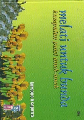 Cover Buku Melati Untuk Bunda (Kumpulan Puisi Anak-Anak)