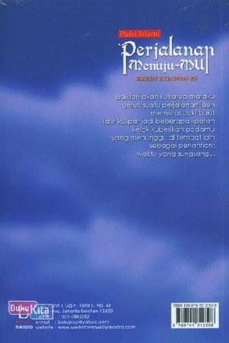 Cover Belakang Buku Perjalanan Menuju-Mu (Puisi Islam)